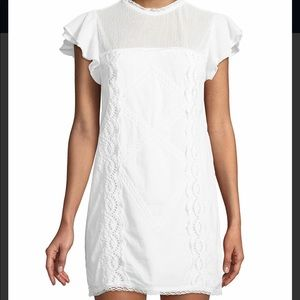 Tularosa Clayton Eyelet Mini Dress